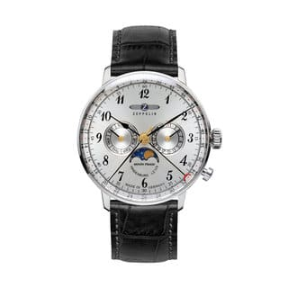 Graf Zeppelin Hindenburg Swiss Quartz Moonphase Calendar Watch #7036-1|https://ak1.ostkcdn.com/images/products/15053500/P21546623.jpg?impolicy=medium