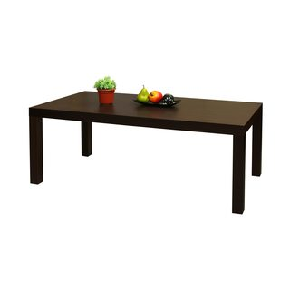 Dark Brown Wood Coffee Table