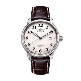 Graf Zeppelin Automatic Watch with White Dial