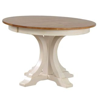 "Iconic Furniture Co 45""x45""x63"" Deco Caramel Bisoctti Dining Table"
