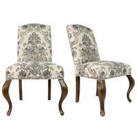 Julia Suzani Vine Village Blue Dining Chairs Set Of 2