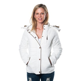 Special One Women's Faux Fur Lined Hooded Jacket