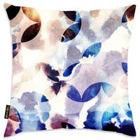 Oliver Gal Home 'Tomorrow Floral' Throw Pillow
