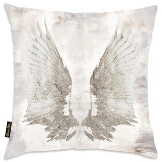 Oliver Gal Home 'My Wings Chie' Throw Pillow