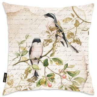 Oliver Gal Home 'Sing Like Birds' Throw Pillow