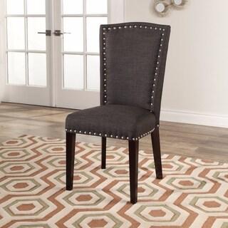 Abbyson Cortland Grey Fabric Dining Chair