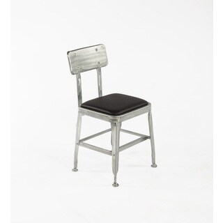 Hans Andersen Home Vrads Silver Black Steel Polyurethane Dining Chair