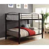 Furniture of america linden ii full over full metal bunk for Furniture of america pello full over full slatted bunk bed