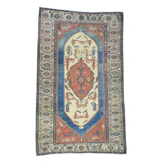 1800getarug Good Condition Original Antique Persian Bakshaish Gallery-size Rug (8'4 x 14')