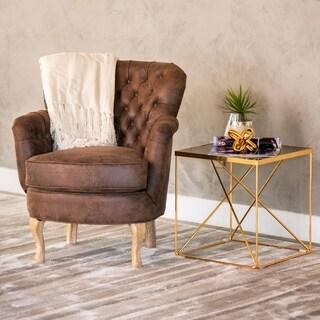 Abbyson Campbell Tufted Armchair