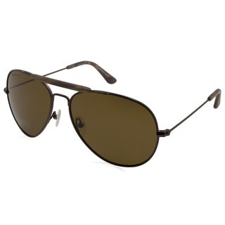 Gant Sun - GRS-JAMES-SBRN-1P Brown 59 mm Aviator Sunglasses