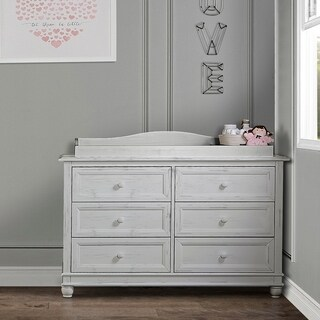Evolur Fully Assembled Changing Tray, Antique Grey Mist