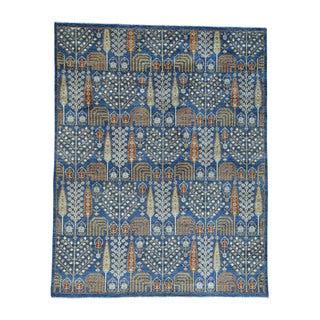 1800getarug Wool Willow And Cypress Tree Design Handmade Peshawar Oriental Rug (8'2 x 10'3)