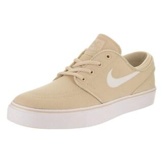 Nike Kids' Stefan Janoski Beige Canvas Skate Shoes