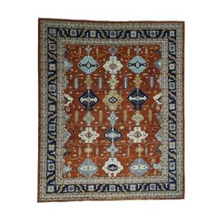 1800getarug Handmade Afghan Ersari 100% Wool Oversize Oriental Rug (12' x 14'8)