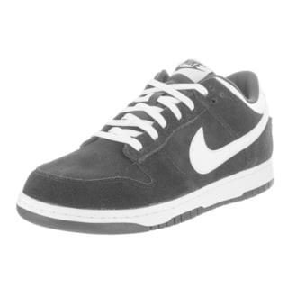 Nike Men's Dunk Low Pro Black Suede Skate Shoes