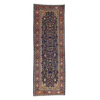 1800getarug Handmade Antique Persian Bakhtiari Gallery-size Rug (4'5 x 12'7)