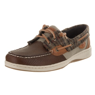 Sperry Top-Sider Women's Rosefish Walnut Leather Boat Shoes
