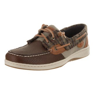 Sperry Top-Sider Women's Rosefish Walnut Leather Boat Shoes|https://ak1.ostkcdn.com/images/products/15054390/P21547507.jpg?impolicy=medium