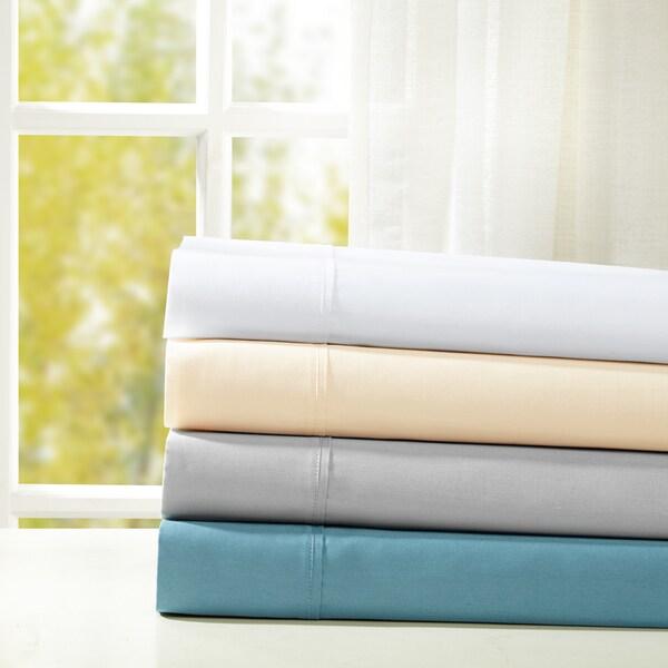 Sleep Philosophy Snug Grip 300 Thread Count Cotton Sateen Pillowcases