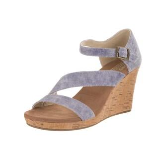 Toms Women's Clarissa Slate Blue Casual Shoes