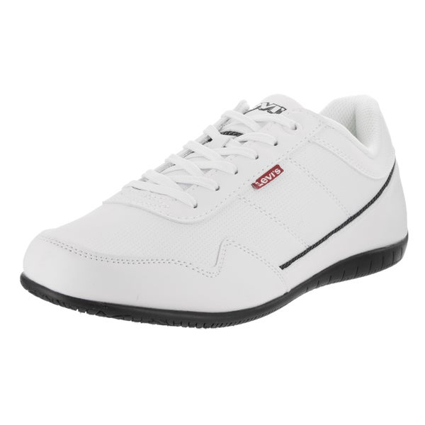 fee5c9b1c178 Shop Levi s Men s Rio Perf UL White Synthetic-leather Casual Shoes ...