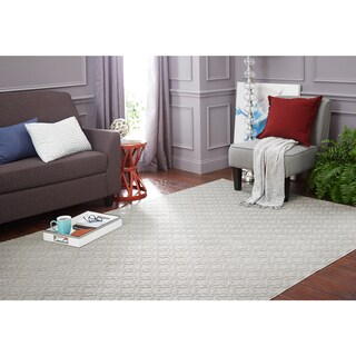 Mohawk Home Essential Spaces Filigree Area Rug (9' x 12')