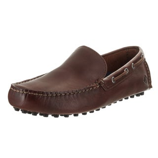 Sperry Top-Sider Men's Hamilton Red Leather Venetian Loafers