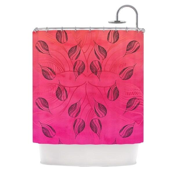 KESS InHouse Catherine Holcombe Summer Sunset Shower Curtain (69x70)