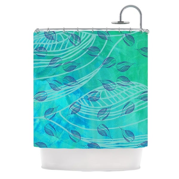 KESS InHouse Catherine Holcombe Sweet Summer Swim Shower Curtain (69x70)