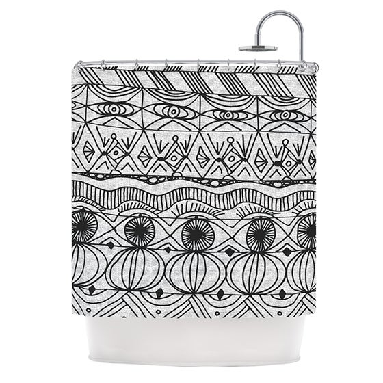 KESS InHouse Catherine Holcombe Blanket of Confusion Shower Curtain (69x70) - 69 x 70