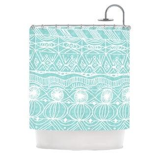 KESS InHouse Catherine Holcombe Beach Blanket Bingo Shower Curtain (69x70)