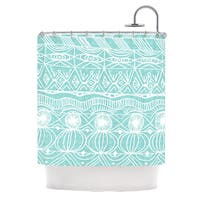 KESS InHouse Catherine Holcombe Beach Blanket Bingo Shower Curtain (69x70)