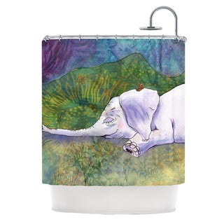 KESS InHouse Catherine Holcombe Ernie's Dream Shower Curtain (69x70)