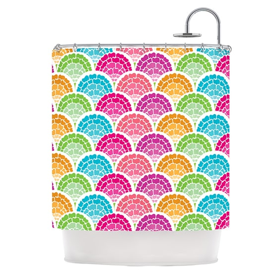 KESS InHouse Anneline Sophia Rina Shower Curtain (69x70)