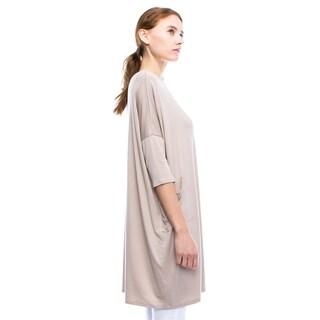 JED Women's Soft Knit Relaxed Fit T-shirt Dress Tunic