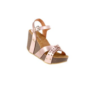 Xehar Women's Ankle Strap Chunky Wedge Sandal (More options available)