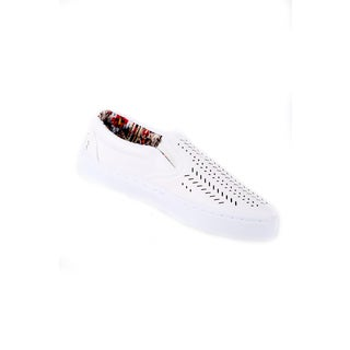 Xehar Women's Perforated Laser Cut Fashion Sneaker