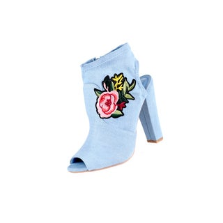 Xehar Women's Casual Peep Toe Heeled Sandal