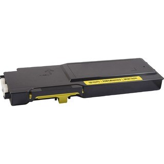 V7 Remanufactured High Yield Yellow Toner Cartridge for Dell C3760 -