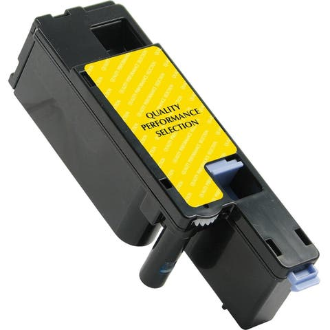V7 Remanufactured High Yield Yellow Toner Cartridge for Dell 1250/C1760 - 1400 page yield