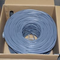 Premiertek Cat6 Bulk Cable 1000ft (Gray)