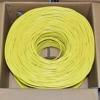 Premiertek Cat6 Bulk Cable 1000ft (Yellow)