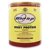 Solgar Whey To Go Whey 32-ounce Protein Powder Natural Vanilla