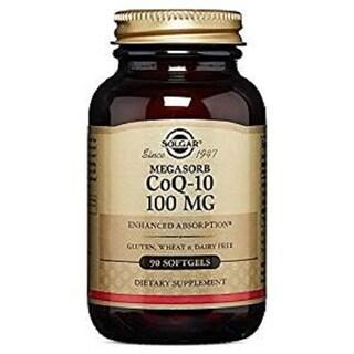 Solgar Megasorb CoQ-10 (100 Softgels)