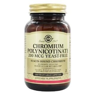 Solgar Chromium Polynicotinate (100 Vegetable Capsules)