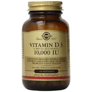 Solgar Vitamin D3 Cholecalciferol 10000 IU (120 Softgels)