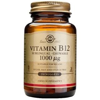 Solgar Vitamin B12 1000 mcg (250 Nuggets)