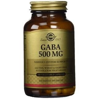 Solgar GABA 500 mg (100 Vegetable Capsules)