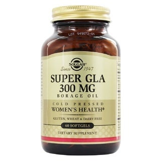 Solgar Super GLA Supplement 300 mg (60 Softgels)